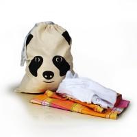 Мешок для хранения белья, игрушек и других вещей  / Панда