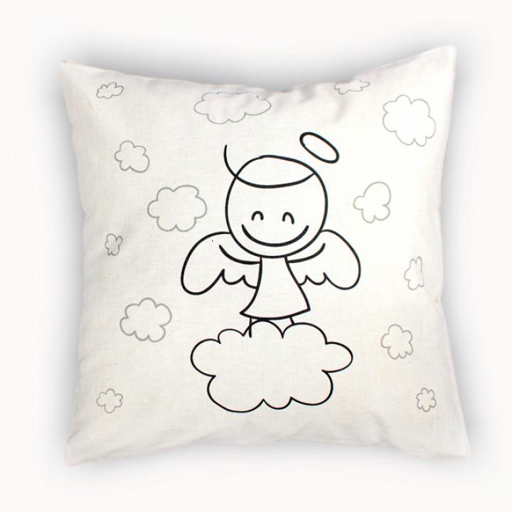Наволочки для декоративных подушек. Ангелок
