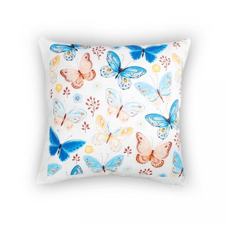 Наволочки для декоративных подушек. Бабочки