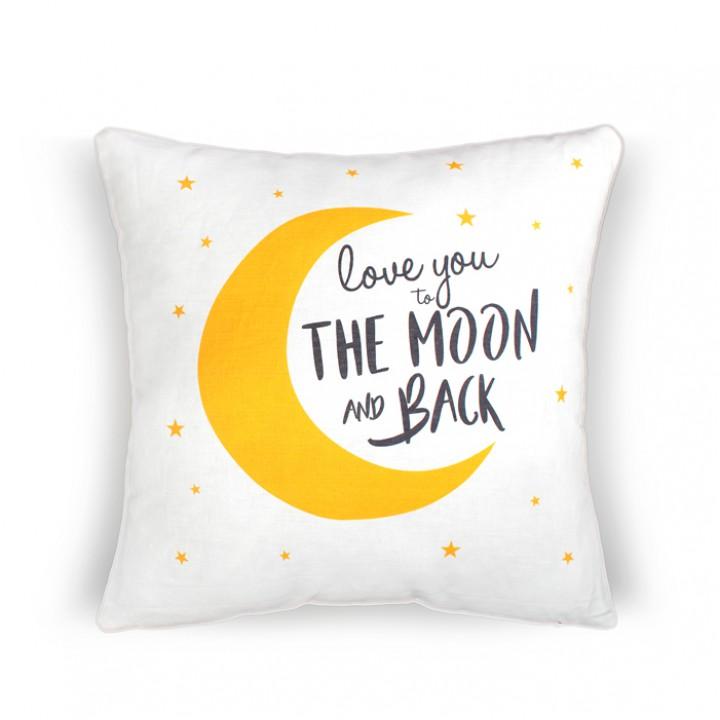 Наволочки для декоративных подушек. Луна