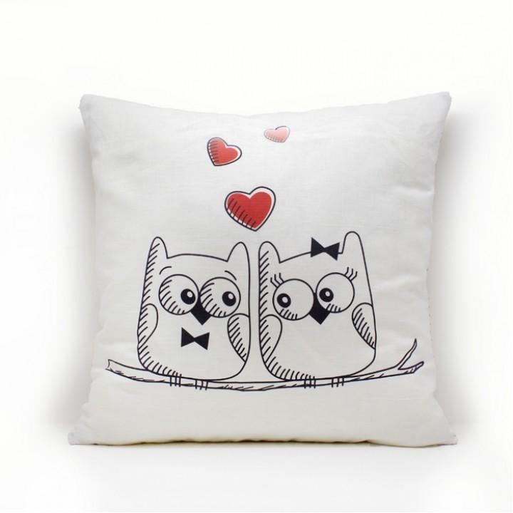 Наволочки для декоративных подушек. Совы