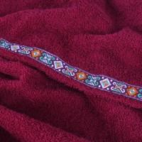 Набор для сауны XXXL, цвет бордо