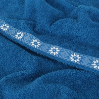 Набор для сауны XL, цвет ярко-синий