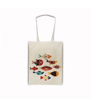 Рыбки Сумка-шоппер 35х40