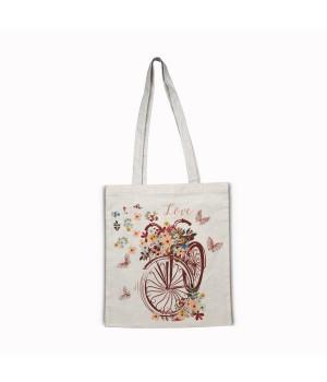 Велик-цветы Сумка-шоппер 35х40