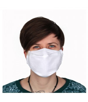 Набор 10 шт. - многоразовая маска для лица, бязь
