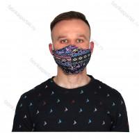 Многоразовая маска для лица L восток. трикотажная