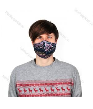 Многоразовая маска для лица S восток. трикотажная