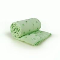 Одеяло Евро (195х215) легкое (150 гр/м2) , бамбук + поплин