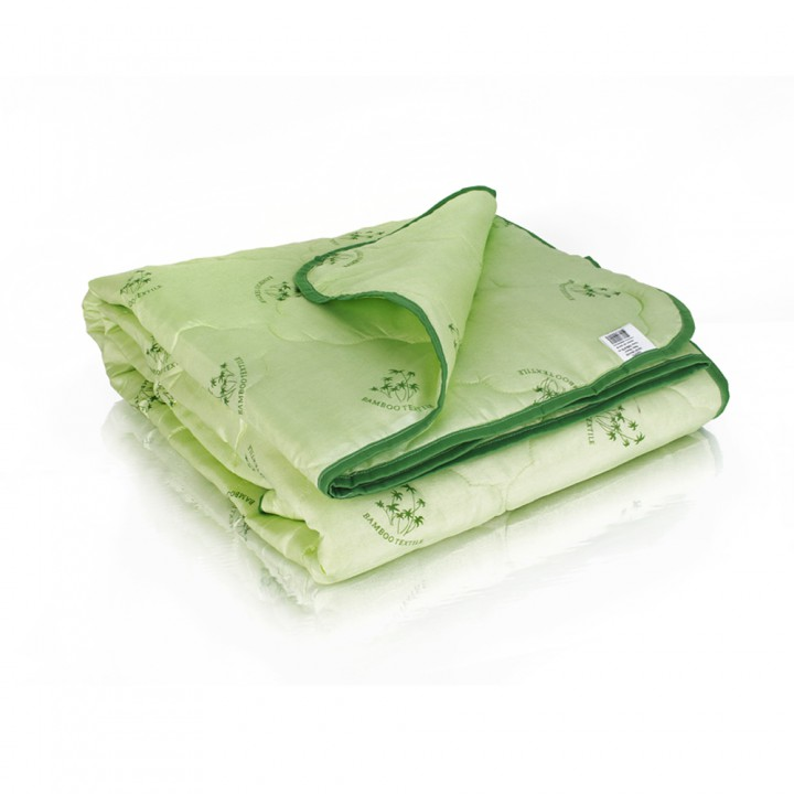 Одеяло Евро (195х215) облегченное (150 гр/м2) , бамбук + полиэстер