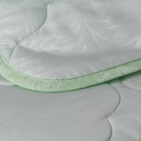 Одеяло 1.5 спальное (150х205) облегченное (150 гр/м2) , бамбук + микрофибра