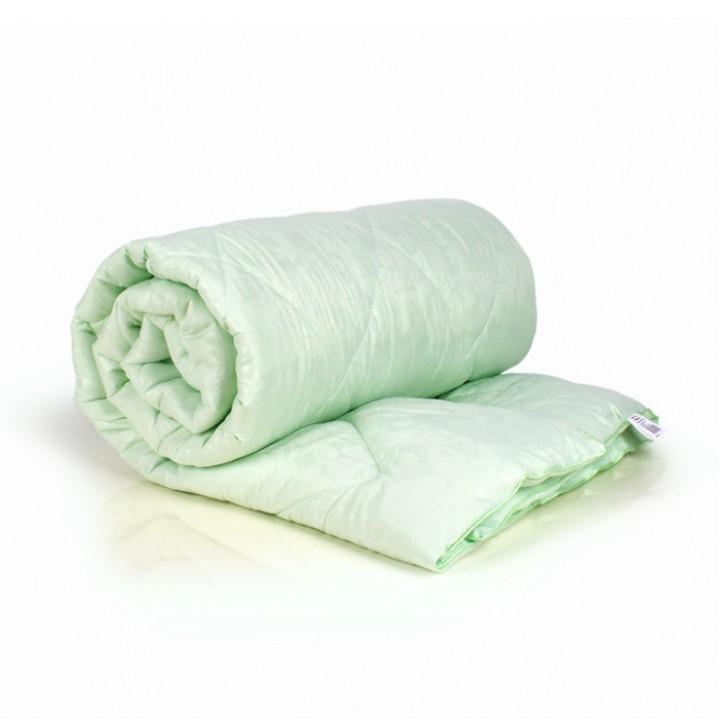 Одеяло 2 спальное (172х205) легкое (200 гр/м2) , бамбук + микрофибра