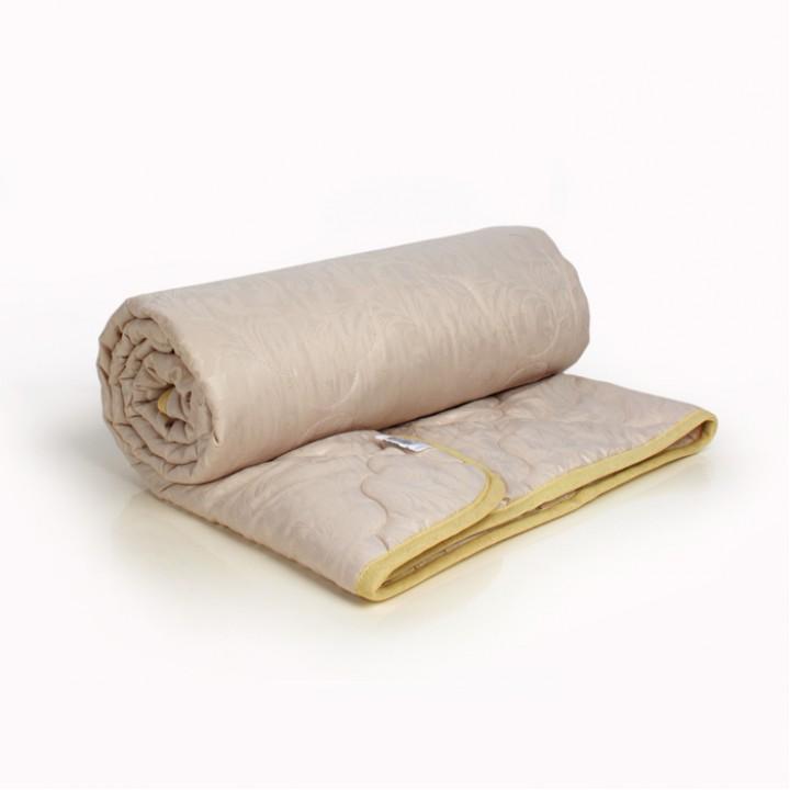 Одеяло 1.5 спальное (150х205) облегченное (150 гр/м2) , шерсть овечья + микрофибра