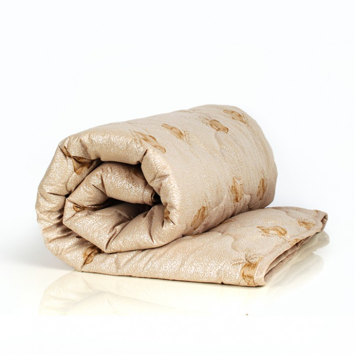 Одеяло 1.5 спальное (150х205) легкое (200 гр/м2) ,овечья шерсть + тик п/э 100%