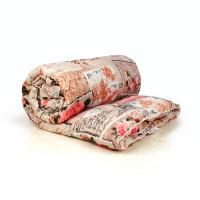 Одеяло евро (195х210) всесезонное (300 гр/м2) , шерсть овечья+полиэстер