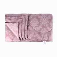 Одеяло 1.5 спальное (150х205) всесезонное (300 гр/м2) , шерсть овечья+поплин