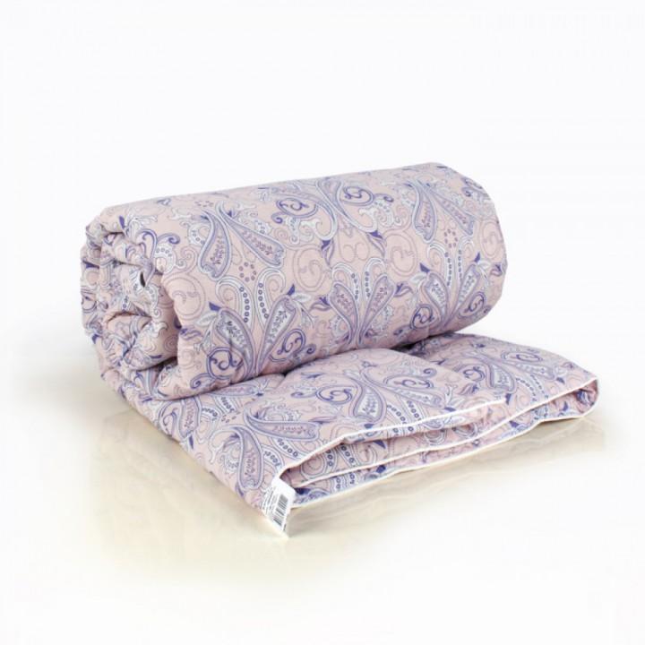 Одеяло евро (195х210) всесезонное (300 гр/м2) , шерсть овечья+хлопок