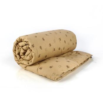 Верблюжья шерсть евро 195х210 всесезонное одеяло перкаль