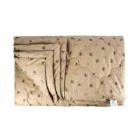Одеяло 1.5 спальное (150х205) всесезонное (300 гр/м2) , верблюжья шерсть + перкаль