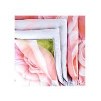 Одеяло 1.5 спальное (150х205) всесезонное (300 гр/м2) , верблюжья шерсть + сатин