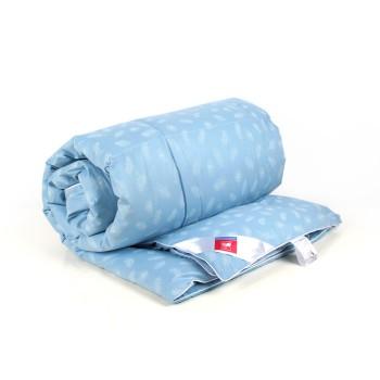 Нежное ЕВРО 200х220 пуховое одеяло