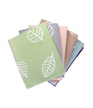 150х212 Байковое одеяло, Премиум, Листья, омела