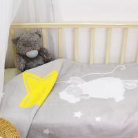 Байковое одеяло детское премиум 100х140 Овечка