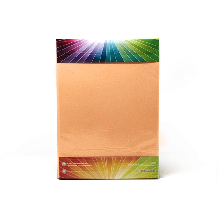 Простыня на резинке трикотажная, цвет Персиковый