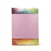 Простыня на резинке трикотажная, светло-сиреневый цвет