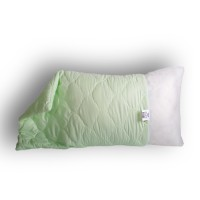Подушка бамбуковое волокно, чехол микрофибра, размер 40х60