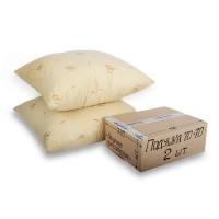 Подушка шерсть овечья, чехол хлопковый - бязь, размер 70х70