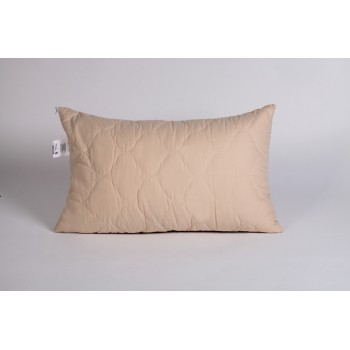 Подушка шерсть овечья 50х70, микрофибра