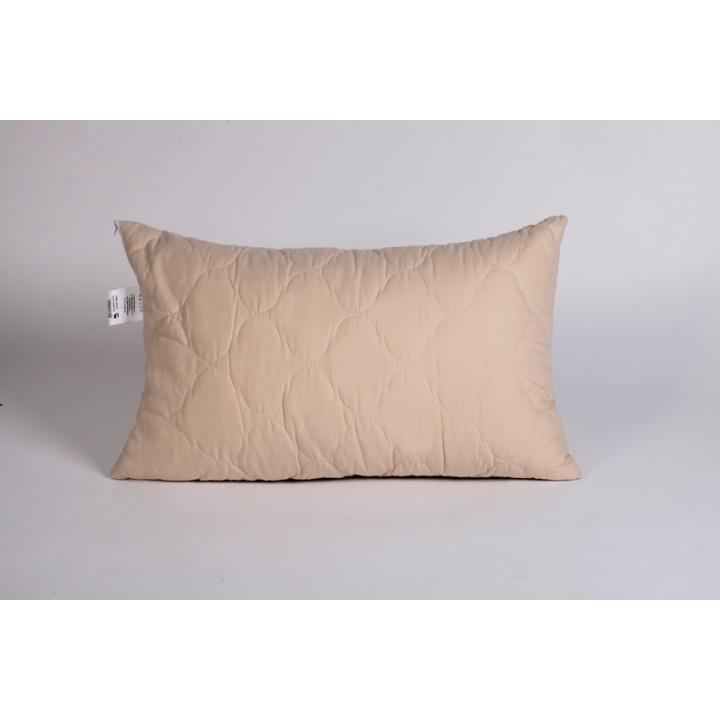 Подушка шерсть овечья, чехол микрофибра, размер 50х70