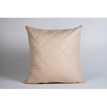 Подушка шерсть овечья 70х70, микрофибра