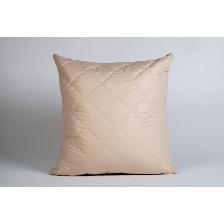 Подушка шерсть овечья, чехол микрофибра, размер 70х70