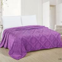 Покрывало велсофт, цвет фиолетовый 120, размер 240х200 см