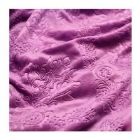 Покрывало велсофт, цвет фиолетовый 120, размер 200х200 см