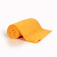 Полотенце 70х140 махровое,  абрикосового