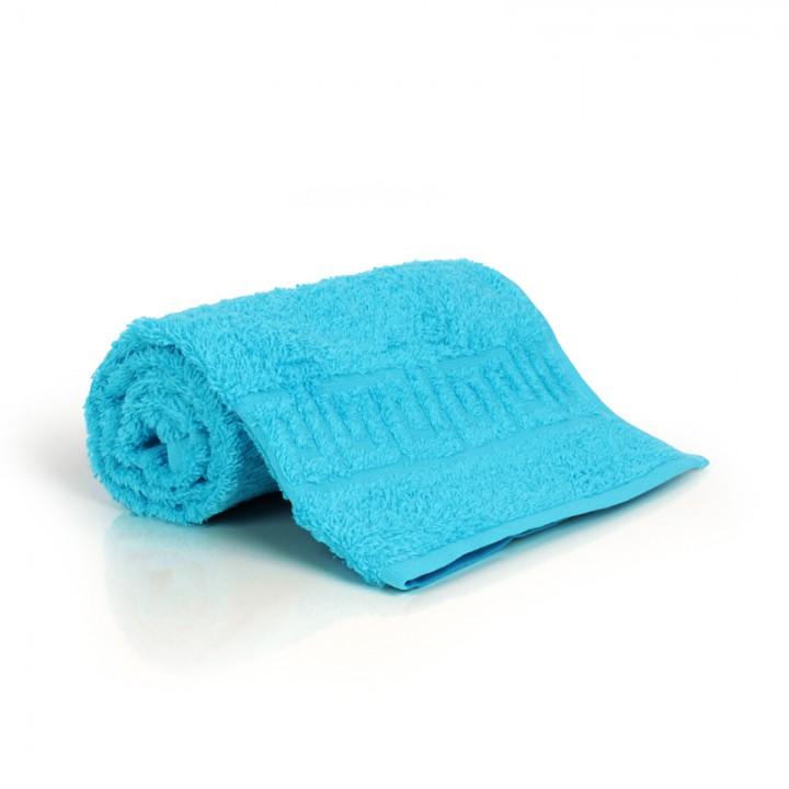 Полотенце 40х70 махровое, голубое