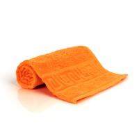 Полотенце 40х70 махровое, оранжевое