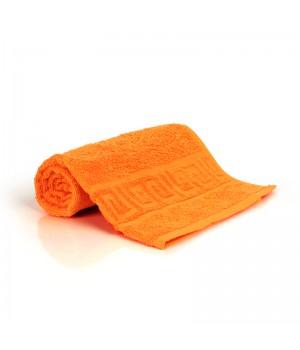 40х70 махровое , оранжевое