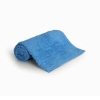 Полотенце 40х70 махровое, светло-голубое
