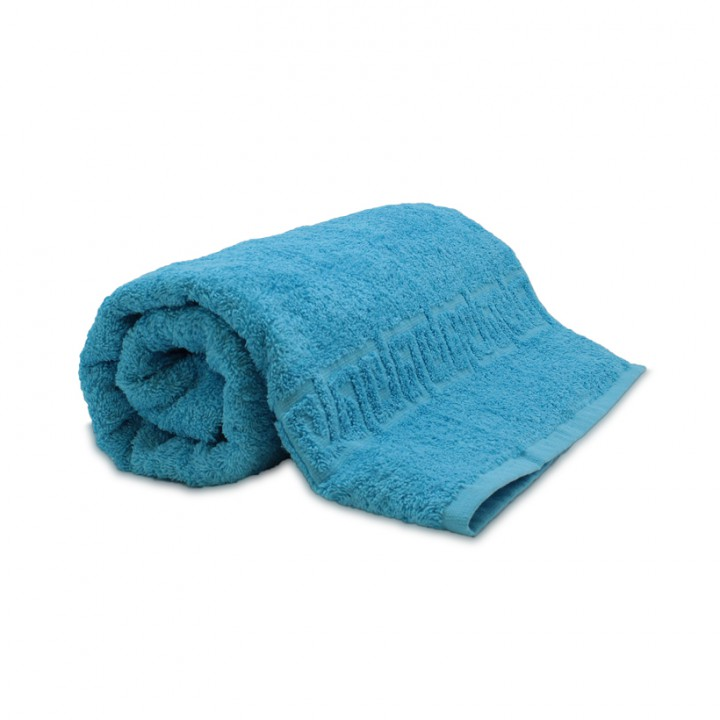 Полотенце 70х140 махровое,  голубого