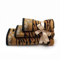 Полотенце 34х76 махровое львы и тигры, ассортимент