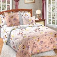 Постельное белье бязь 2 спальное простыня на резинке - Эльфийская ночь