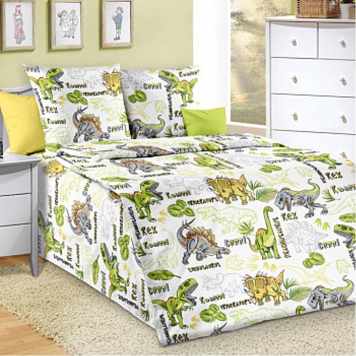 Постельное белье бязь 1.5 спальное Эра Динозавров