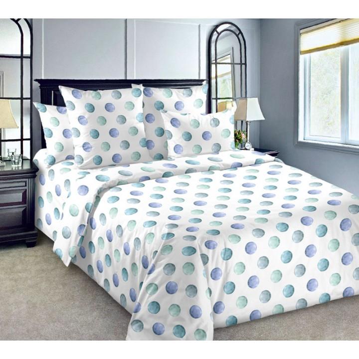 Постельное белье бязь 2 спальное с простыней на резинке 180х200х25 - Галилео