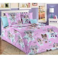 Детское постельное белье бязь 1.5 спальное Глянец