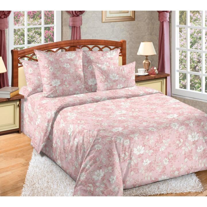 Постельное белье бязь 2 спальное с простыней на резинке180х200х25  - Лана