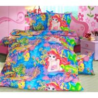 Детское постельное белье бязь 1.5 спальное Морская сказка